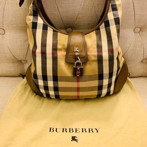 Burberry large size classic large hobo bag